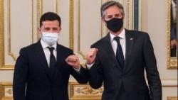 Ngoại trưởng Mỹ thăm Ukraine: Tổng thống Zelensky mời gọi NATO tăng cường hiện diện