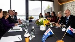 Australia-New Zealand 'lên cót' cho nhau làm vai trò đầu tàu rộng lớn hơn ở Thái Bình Dương