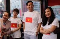 Cộng đồng người Việt tại Bulgaria và Romania giao lưu văn hóa - thể thao