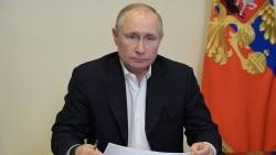 Tổng thống Putin: Nga sẵn sàng hợp tác trung thực với châu Âu