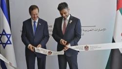 Gần một năm sau thỏa thuận bình thường hóa, UAE chính thức mở Đại sứ quán tại Israel