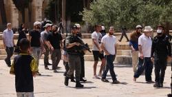 Người Palestine đụng độ cảnh sát Israel ở Jerusalem, Núi Đền gặp nguy, EU lo ngại, Ai Cập cảnh báo