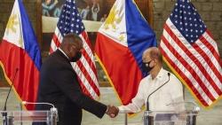 Lầu Năm Góc nói gì về việc khôi phục hoàn toàn thỏa thuận cho phép quân đội Mỹ triển khai ở Philippines?