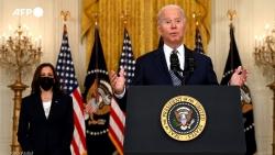 Tình hình Afghanistan: Tổng thống Mỹ Biden tuyên bố không hối tiếc, EU khẳng định không tuyệt vọng
