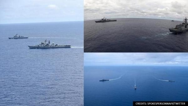 Ấn Độ-Philippines đưa các tàu khu trục đến Biển Đông tập trận chung