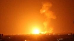 Cầu lửa đỏ trời Dải Gaza, Israel mở trận không kích trong đêm