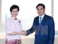 Thúc đẩy tiềm năng hợp tác giữa thủ đô Hà Nội và Hong Kong