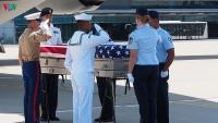 Lễ bàn giao hài cốt quân nhân Hoa Kỳ tại Đà Nẵng