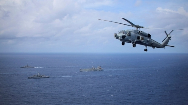 Pháp-Australia ra thông cáo chung bày tỏ 'quan ngại sâu sắc tình hình Biển Đông'