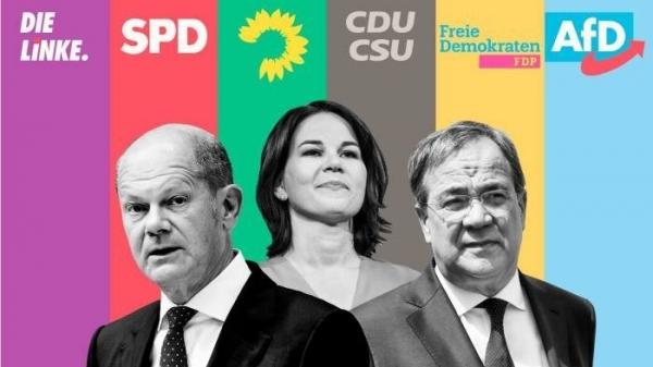 Kết quả sơ bộ bầu cử Đức: SPD tạm đánh bại Liên minh của Thủ tướng Merkel; bóng gió về chính phủ tương lai
