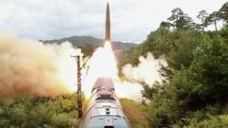 NÓNG: Triều Tiên lại vừa phóng ít nhất một vật thể bay ra biển Nhật Bản