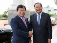Ưu tiên triển khai các dự án kết nối năng lượng Việt - Lào