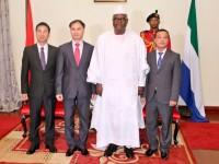 Đại sứ Việt Nam tại Nigeria kiêm nhiệm Sierra Leone trình Ủy nhiệm thư