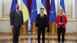 Lo sợ bị ra rìa vì Dòng chảy phương Bắc 2, Ukraine yêu cầu EU bảo vệ