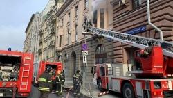 Hỏa hoạn tại tòa nhà có trụ sở Thương vụ Việt Nam tại Nga, không có thương vong
