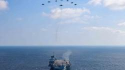 Ấn Độ-Anh đem 'ba quân' thực hiện hành động tham vọng nhất ở Ấn Độ Dương-Thái Bình Dương