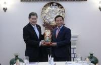 Tổng Thư ký ASEAN thăm Đại sứ quán Việt Nam tại Nga