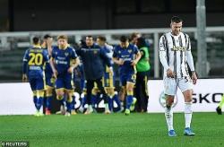 C.Ronaldo lập công, Juventus vẫn rơi điểm đáng tiếc, giấc mơ Serie A xa vời