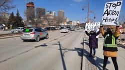 Canada: Hàng trăm người tham gia làn sóng tuần hành chống nạn kỳ thị người gốc Á