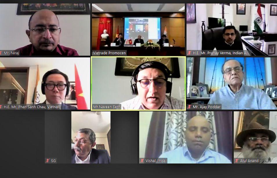 Việt Nam-Ấn Độ: Tìm kiếm cơ hội xúc tiến đầu tư, kinh doanh hậu Covid-19