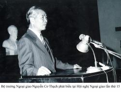 Chủ trương của Bộ trưởng Nguyễn Cơ Thạch về đào tạo đội ngũ cán bộ nghiên cứu