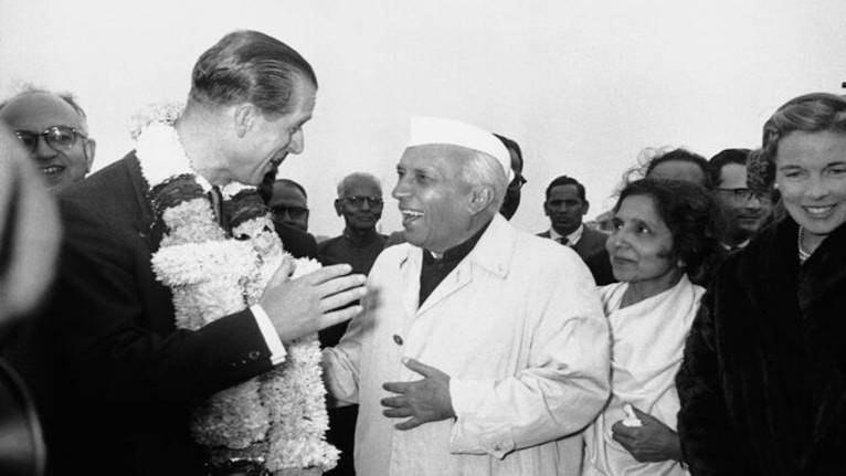 Nữ hoàng Anh và Hoàng thân Philip bao nhiêu lần thăm Ấn Độ?