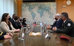 Bộ trưởng Quốc phòng Mỹ: Quan hệ với Israel 'vững như bàn thạch'