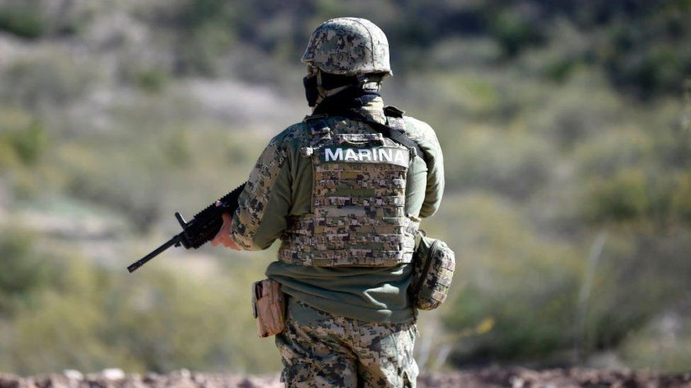 Mexico bắt giữ 30 binh sĩ Hải quân nghi liên quan vụ mất tích dân thường