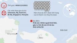 Indonesia xác nhận tàu ngầm KRI Nanggala 402 bị chìm