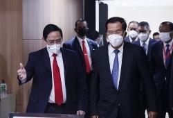 Thủ tướng Phạm Minh Chính gặp Thủ tướng các nước Campuchia, Singapore và Malaysia