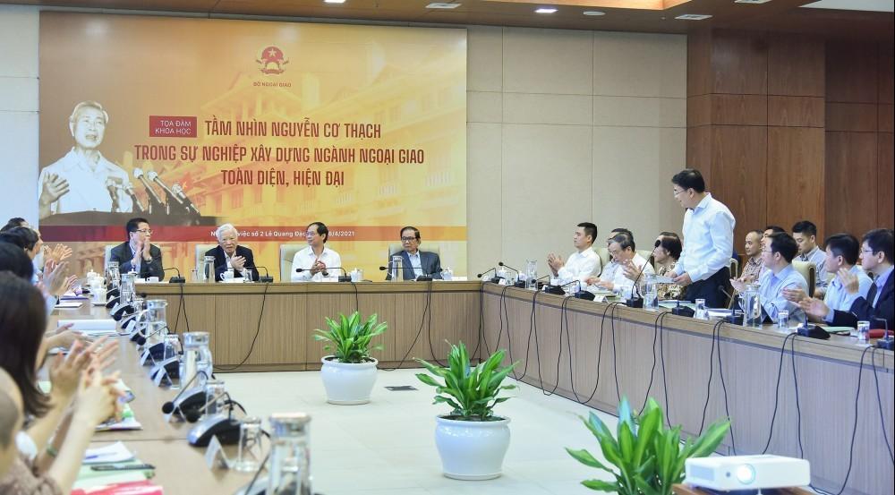 Kế thừa và phát huy tầm nhìn của Bộ trưởng Nguyễn Cơ Thạch -  Xây dựng tổ chức bộ máy Bộ Ngoại giao chính quy, toàn diện, hiện đại