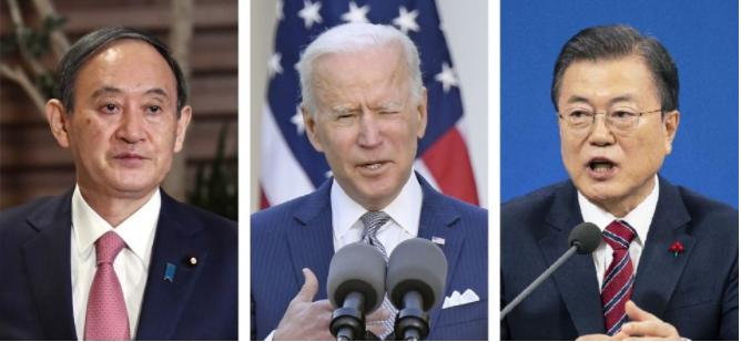 Mỹ-Nhật-Hàn họp thượng đỉnh ba bên lần đầu tiên trong 4 năm qua?