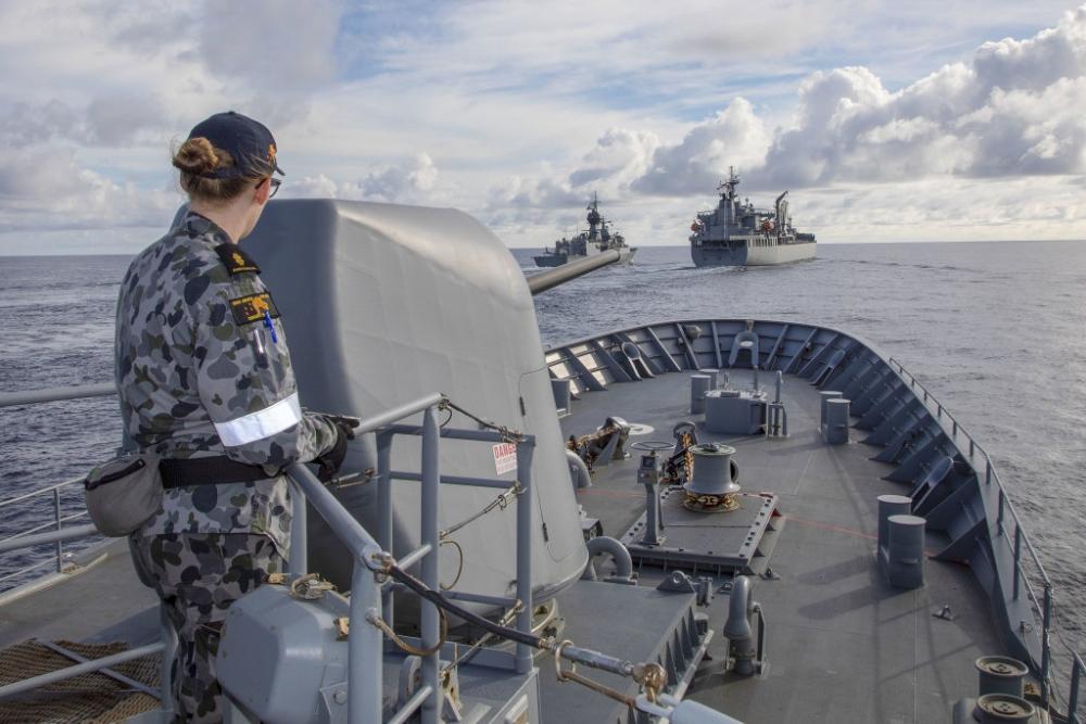 Lựa chọn khó khăn của Australia ở Biển Đông