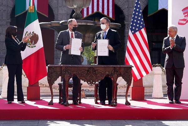 Mỹ-Mexico tìm cách giải quyết gốc rễ vấn đề di cư