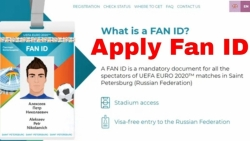 Cảnh báo công dân nhập cảnh Liên bang Nga bằng thẻ Fan ID