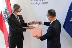 Việt Nam và Áo kỷ niệm nhiều sự kiện quan trọng trong năm 2021-2022