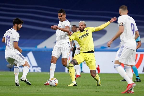 Real Madrid vs Villarreal: Kết thúc 0 bàn thắng