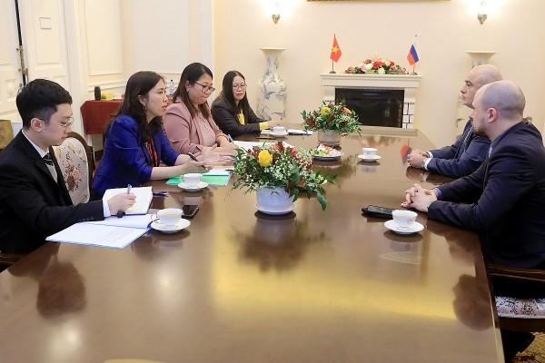 Tham vấn giữa Vụ Thông tin Báo chí Bộ Ngoại giao hai nước Việt Nam-Liên bang Nga
