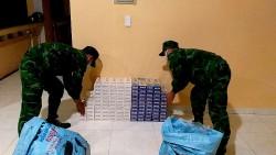 Bộ đội Biên phòng An Giang: Thu giữ 2.000 gói thuốc lá nhập lậu