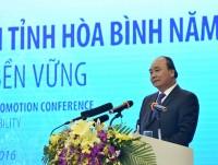 Thủ tướng chứng kiến nguồn vốn 1 tỷ USD vào Hòa Bình