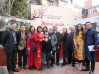 Tết Cộng đồng Việt ấm áp tại Tây Ban Nha