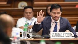 Ngôi sao quyền anh Philippines xác nhận tranh cử Tổng thống