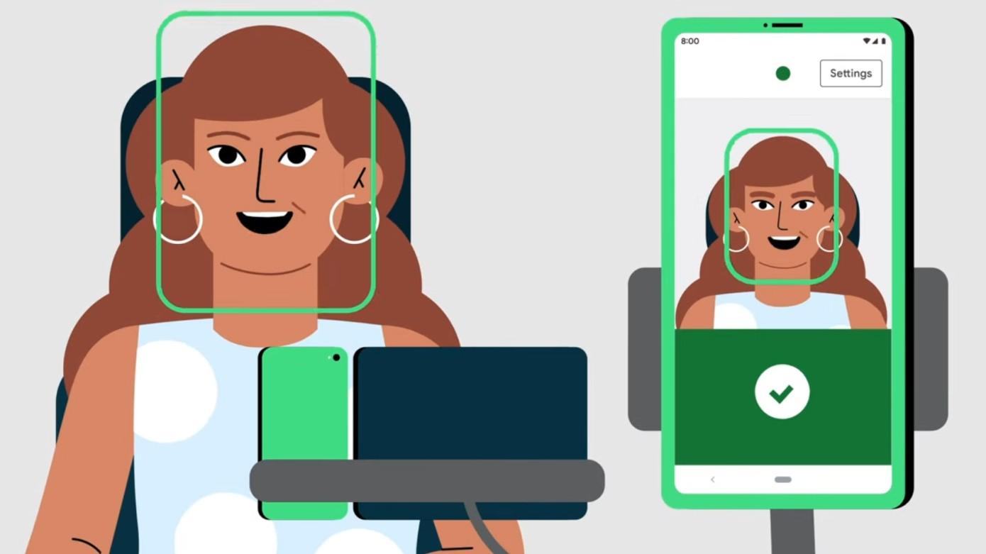 Điều khiển điện thoại bằng cơ mặt – bước tiến mới của Google
