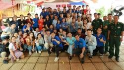 Thanh niên Việt Nam - Lào - Campuchia chung tay vun đắp tình hữu nghị