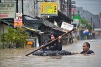 Điện thăm hỏi về đợt mưa lớn gây lũ lụt nghiêm trọng tại Indonesia