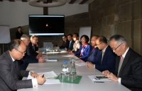 Phó Thủ tướng Thường trực gặp Thống đốc bang Bern, Thụy Sỹ