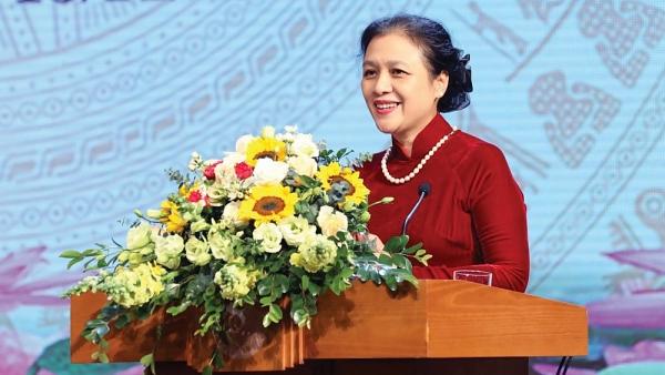 Chủ tịch VUFO Nguyễn Phương Nga: Ðối ngoại nhân dân linh hoạt cùng năm Covid-19
