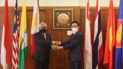 Đại sứ quán Việt Nam tại Nam Phi chuyển giao vai trò Chủ tịch APC tại Pretoria cho Indonesia