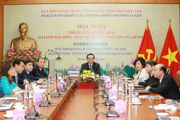 Thông tin về kết quả Đại hội XIII của Đảng cho Chính quyền thành phố Saint Petersburg