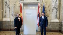 Việt Nam-Áo đẩy mạnh hợp tác về kinh tế, thương mại